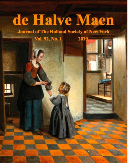 de Halve Maen Vol. 92 No. 1 cover